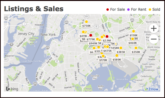 """Realtor Ron Ferrara's turf in Queens, where there's no such thing as a """"cheap"""" house. (Source: Zillow)"""