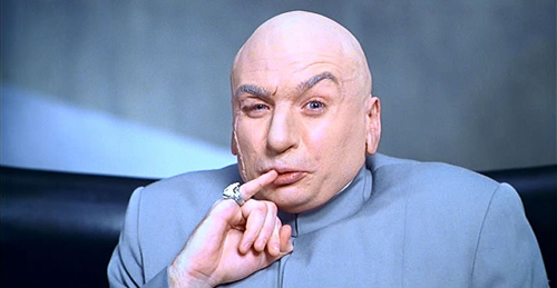 Dr. Evil had to steal his Mojo. You can get the Mojo Power Dialer legally at Mojosells.com