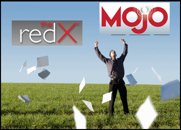 You'll feel like 500 pounds has been taken off your shoulders with the stress-reduction real estate prospecting tools from Mojo and RedX
